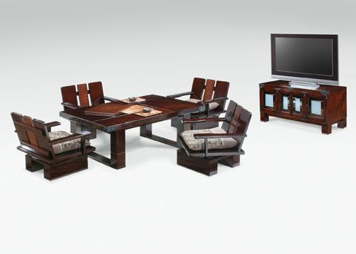 座卓兼用テーブル 回転椅子