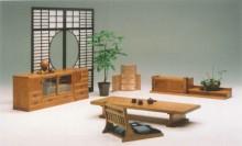 華月シリーズ ローボード4.0・多木棚・座椅子・置床座机