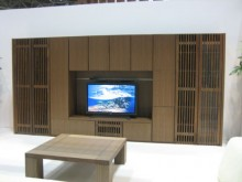 オーダー壁面収納TV台
